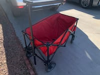 Never used Wagon & two white foldable tables never used Las Vegas, 89145