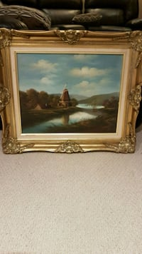 Antique painting with frame  Oakville, L6M 4S2