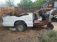 Truck trailer for hauling trash.  Roswell, 88203