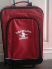 Disneyland red carry on with extendable handle 554 km