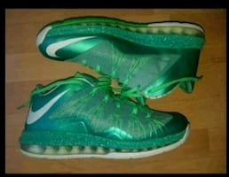 Nike Air Max Lebron X Low Easter/Poison Green