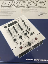 BEHRINGER 3CH MIXER WITH BMP COUNTER!!!!