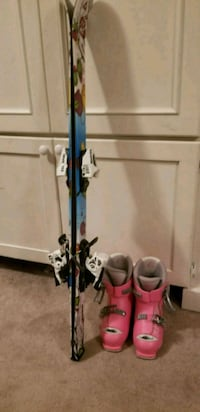Skis, boots, bindings package. 110 skis, 13-1 boot Oconomowoc, 53066