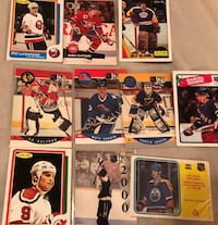 NHL hockey cards lot of 10 Georgetown, L7G 6M6