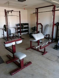 Professional weightlifting equipment and mats Henderson, 89074