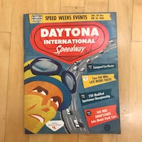 Vintage Daytona 500 Program 1960