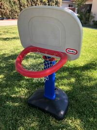 black and blue Little Tikes basketball hoop Rialto, 92376