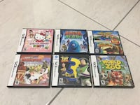 six assorted Nintendo DS game cases Edinburg, 78539