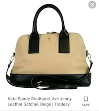 Kate Spade leather satchell