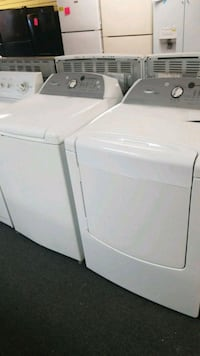 Whirlpool top load set washer and dryer