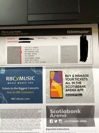 Michael Buble Tickets for Sale! July 27th  King