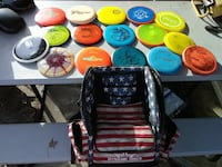 Full disk golf set with bag  North Augusta, 29841
