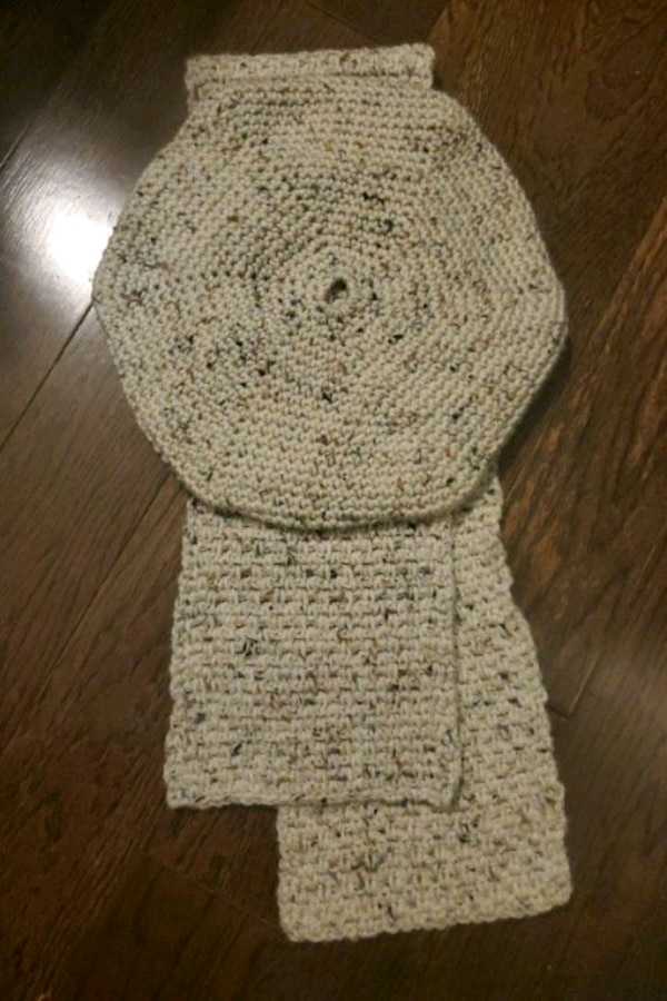 Handcrafted Beret and Scarf aca9b2e8-832d-480f-8b5f-12cf64314168
