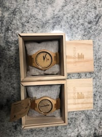 Elevated bamboo watches