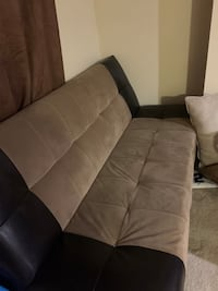 Click clack couch bed with storage