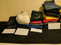 assorted-color clothes lot Saint Catharines