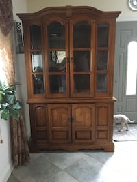 Table - 5 chairs and China Cabinet
