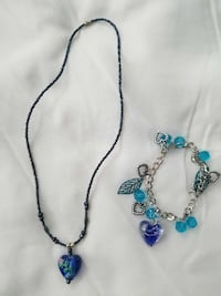 silver and blue beaded necklace San Jose, 95127