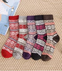 New women's wool warm socks Mason, 45040