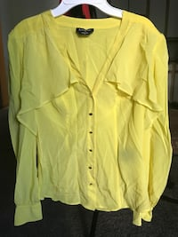 women's yellow long-sleeved blouse Portland, 97216