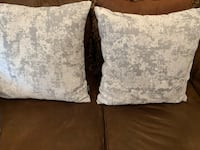 Two brand new grey pillows Calgary, T1Y 1X7