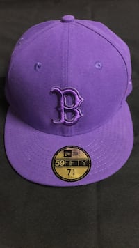 7 5/8 size purple new era 59 fifty boston red sox fitted cap Las Cruces, 88011