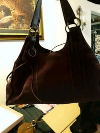 Anna plum colored suede bag Billings, 59101