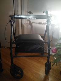 black BIOSliving rollator