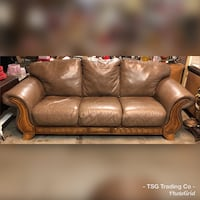 Tuscan leather couch set  Concord, 28027