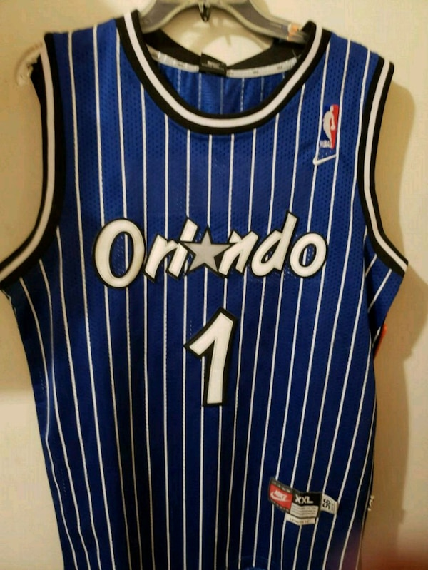 new arrival b7d5f 8cd93 Used Penny Hardaway Orlando Magic jersey #1 for sale in ...