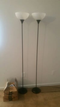 Twin stick floor lamps. $30 OBO  Greenfield, 46140