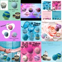 BubbleBliss bathbomb gift sets County Durham, DH8 8AX