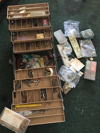 Fish tackle box 6 trays everything including  Palmdale, 93591