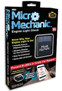 Micro Mechanic Engine Light Check Savage, 20763