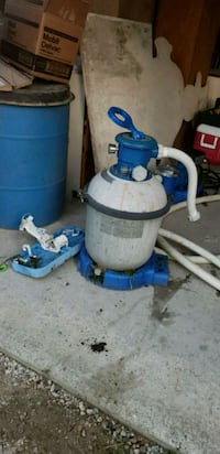 Pool pump and filter  Fordwich, N0G 1V0