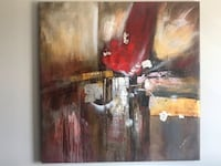 """Canvas painting 120""""x120"""" Laval, H7P 4W6"""