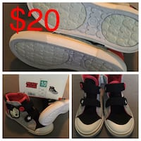Boys size 10 Mickey Mouse Hightops Rosemont, 21758