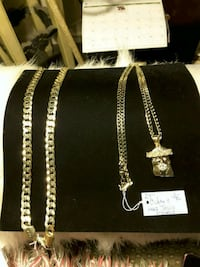 """Necklaces 24"""" Chain30$ or  24"""" Chain & Pendent 30$-30$ Ladson, 29456"""