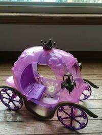 pink and purple Barbie carriage Vernon, V1H 2C6