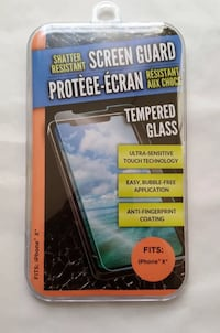 iPhone X Shatter Resistant Tempered Glass Screen Guards Duluth, 30096