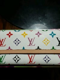 white and brown Louis Vuitton leather wallet Surrey, V3R 0S3