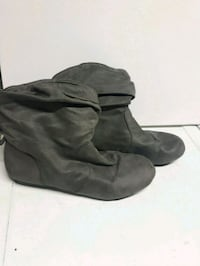 gray suede ankle boots Calgary, T3J 3J1