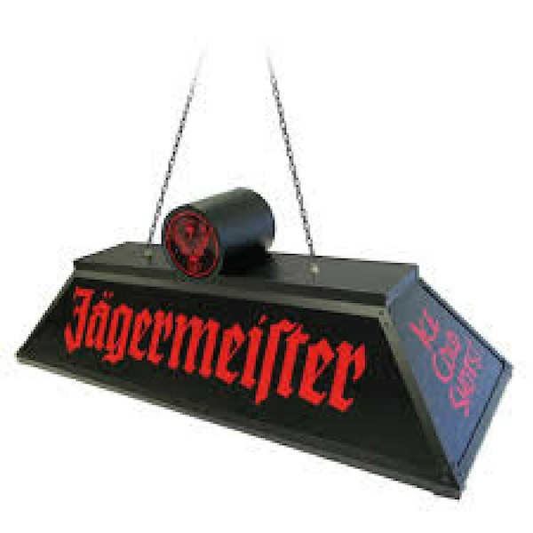 Used Jagermeister Pool Table Light For Sale In Middletown