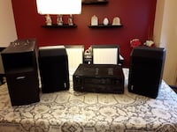 DENON – AVR-3312CI + BOSE SUB-WOOFER+2 MATCHING SPEAKERS+ REMOTE null