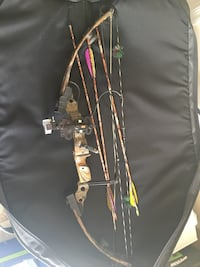 Jennings Barracuda Air Compound Bow with case and arrows Glen Burnie, 21060