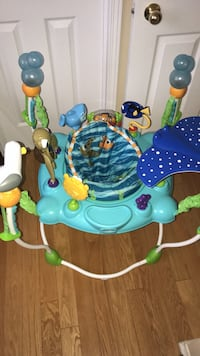 Baby's blue and white jumperoo Brampton, L6P 2L7