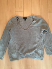 blue v-neck sweater Toronto