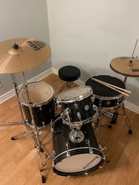 Ludwig Drums Breakbeat by Questlove drum set - Black Sparkle