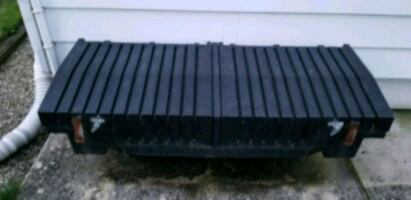 Storage box for small pick up like a Ranger.