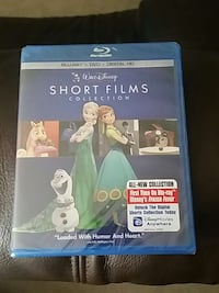 Used Walt Disney Short Films Collection Blu Ray Disc Case For Sale